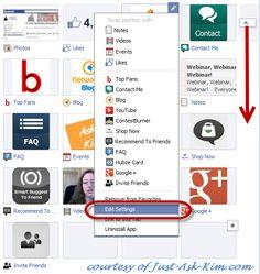 Facebook Pages Timeline Apps Screenshot