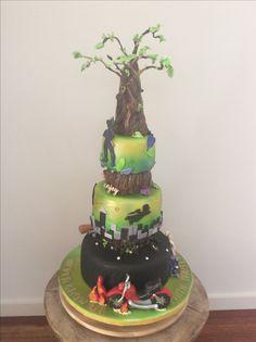 Peterpan themed 50th birthday cake.