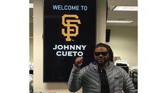 Gigantes concretan pacto de seis años con el Quisqueyano Johnny Cueto