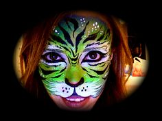 Face Painting..Tigre.