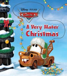 Lightning McQueen and Mater enjoy the holidays in Radiator Springs! Boys ages will love Disney Pixar Cars Very Mater Christmas. This Christmas-themed Board book . Disney Pixar Cars, Disney Movies, Christmas Books, Disney Christmas, Christmas Themes, Disney Holidays, Christmas Images, Christmas Goodies, Vintage Christmas