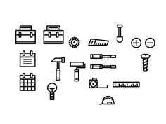 GOOD Construction icons