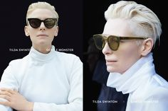 Tilda Swinton Collaborates with Gentle Monster - sleek mag