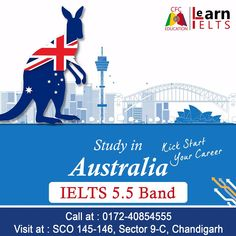 Australia Visa, Overseas Education, Ielts, Chandigarh, Masters, How To Apply, Study, Graphic Design, Band