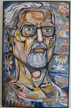 Irving Amen (1918-2011) was een Amerikaans schilder , graficus en beeldhouwer .Geboren in New York in 1918, Amen studeerde in Parijs in 1950. Vanaf 1953, reisde Amen door Italië, Israël, Griekenland en Turkije en dat leidde in 1960 tot een overzichtstentoonstelling in Jeruzalem. Zijn kunst wordt op handen gedragen en is zeer geliefd.
