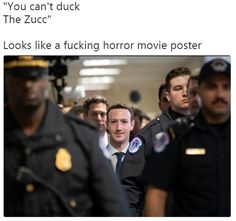 You Can't Duck The Zucc #funny #meme