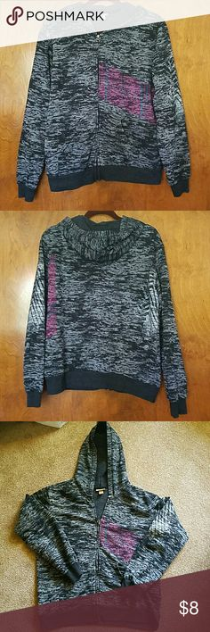 Boys XL Mossimo hoodie Great used condition. Measures 23 inches from armpit to armpit.   No flaws with zipper. There is very miner piliing at end of sleeves Mossimo Supply Co Shirts & Tops Sweatshirts & Hoodies
