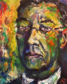 Alan Derwin, Portrait of Wassily Kandinsky