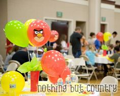 Angry Birds Party Ides and Printables