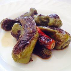 Noi questi #cornetti in #agrodolce li preferiamo a quelli #portafortuna, non so voi! Per un #secondo davvero #lastminute!! #Buonpranzo da #ricettelastminute. #love #food #instapic #instafood #instagood #instacool #photooftheday #me #italia #italy #sicilia #sicily #peperoni #catania #yum #yummy #pranzo #venerdi