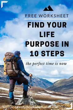 Find your life purpose in 10 steps [FREE WORKSHEET] Download Now: https://manifestationplanner.com/how-to-find-your-life-purpose  The perfect gift for yourself to start 2016!