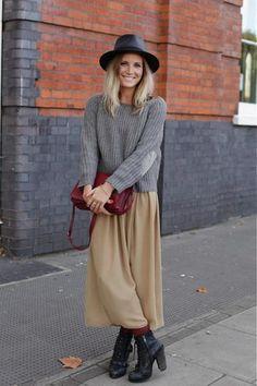 Maxi jupe essentiel garde-robe