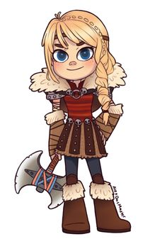 DeviantArt: More Collections Like Astrid chibi by AlexDasMaster
