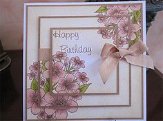 Triple Stamped Birthday