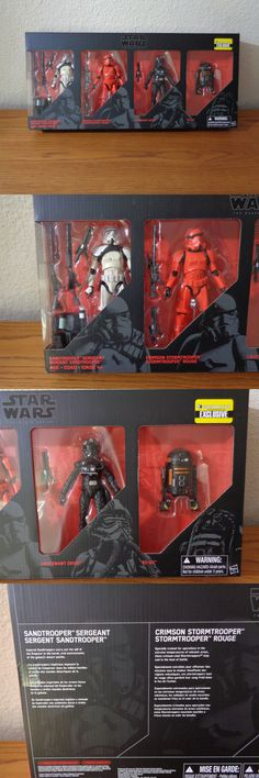 TV Movie and Video Games 75708: Star Wars 6 Black Series Imperial Forces 4-Pack Moc Mib Exclusive Oxixo -> BUY IT NOW ONLY: $57.95 on eBay!