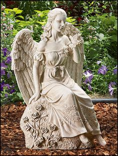 angel sculpture | History Mystery: Angels