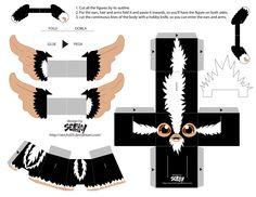 Blog_Paper_Toy_papertoys_Gremlins_Sercho_black_template.jpg (3300×2550)