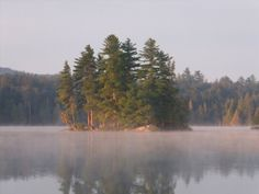 Mist at Forked Lake Campground - NYSDEC Campgrounds