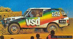 RANGE ROVER VSD DE 1982 N°152 - Dakardantan