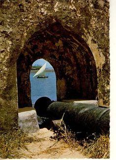 Costal Mombasa Fort Jesus Postcard