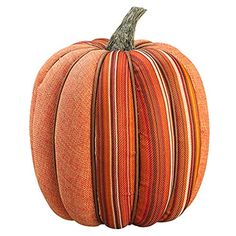 9'Hx8'W Artificial Burlap Pumpkin -Orange/Mixed (pack of 6) * Continue to the product at the image link.