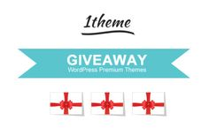 Giveaway #7 : Win 3 One Year Licenses of 1Theme.com Themes