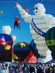 Michelin Man Kodak+Albuquerque+International+Balloon+Fiesta | Expeditions by Tricia