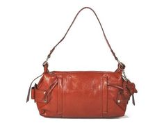 Beautiful orange for fall!  #vegan #bags