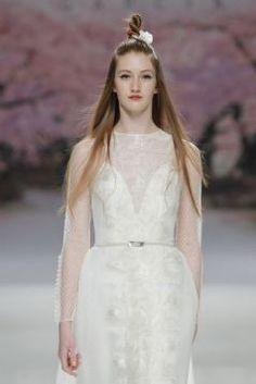 Pasarela BBFW 2016 vestidos de Novia de inmaculada garcia 15