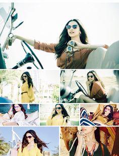 Deepika Padukone for Vogue Eyewear MeetMeIn 2016 photoshoot