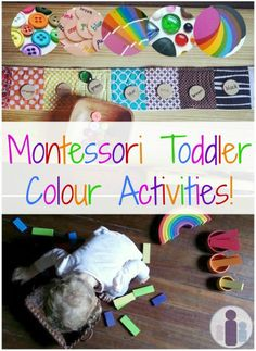 Montessori Toddler Colour Activities from Racheous
