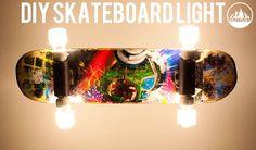 How to make a Skateboard Light - DIY Skate : Salty Peaks