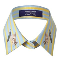 Candy Stripe Collar Yellow | SUPERSWEET x moumi | Wolf & Badger