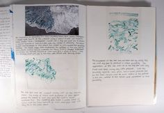 Ink on Tracing Paper Sketchbook Pages - Cez