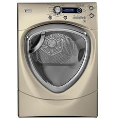 G.E. Champagne Profile 7.5 cu. ft. Front Load Dryer with Steam