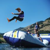 The Body Launching Inflatable from Hammacher Schlemmer. Shop more products from Hammacher Schlemmer on Wanelo. Sports Nautiques, Water Toys, Lake Life, Looks Cool, Outdoor Fun, Outdoor Games, Rafting, The Great Outdoors, Summer Fun