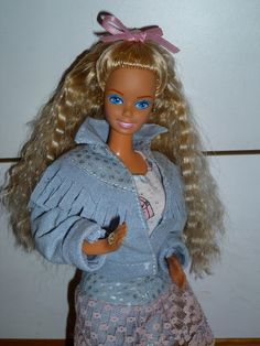 1988 Feeling Fun (Jeans) Barbie by Patty Is Totally Addicted To Barbie, via Flickr