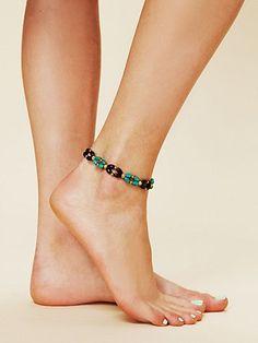 Free People Beaded Ankle Bracelet Jewelry Bracelets Bead Making