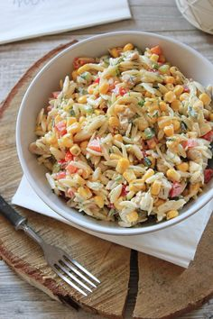 Anti Pasta Salads, Pasta Salad Recipes, Cooking Recipes, Healthy Recipes, Dessert For Dinner, Food Design, Orzo, Food Inspiration, Italian Recipes