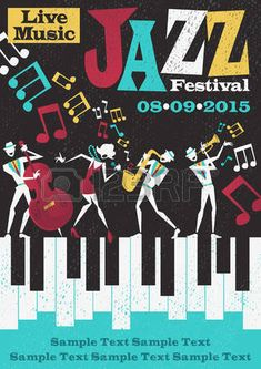 45142659-retro-styled-jazz-festival-poster-featuring-an-abstract-style-illustration-of-a-vibrant-jazz-band-an.jpg (318×450)