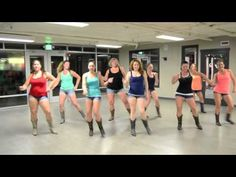Line Dance - Bad Girl - YouTube