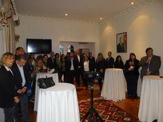 Presentación en la Embajada de Azerbaiyán junto a Turkish Airlines para más de treinta agencias de turismo, las más importantes de la Argentina.