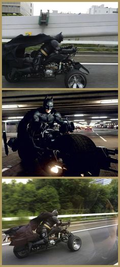 Batman was out for a ride In Japan this weekend.