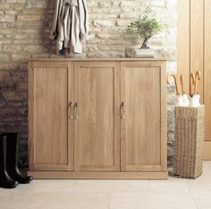 mobel oak extra large shoe cupboard click on image to purchase on site oak