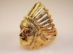 Gold Ring, Ruby, Jewel, Female Jewelry