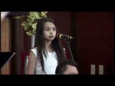 Laura singing The Prayer by Celine Dion at Elim Church in Chicago. Laura Bretan, Child Prodigy, Celine Dion, Prayer, Opera, Singing, Concert, Youtube, Music