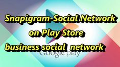 visit Snapigram and create your business profile with easy. Our application and website offering your professional business look on the net and promoting your values.  www.snapigram.com Business Profile, Business Look, Business Networking, Google Play, Create Yourself, Promotion, App, Website, Apps