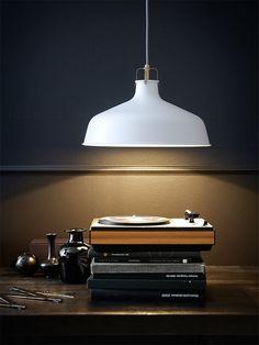 Beautiful pendant called RANARP designed by Ikea.