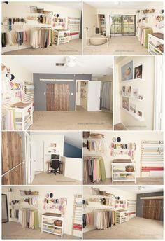 Small newborn studio. http://www.jenniferreina.com