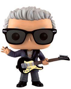Cabezón 12º Doctor con guitarra 9 cm. Dr. Who. Línea POP! Television. Funko  Estupendo y simpático cabezón del personaje 12º Doctor con guitarra de 9 cm, uno de los personajes de la exitosa serie de TV el Dr. Who. Un fantástico cabezón fabricado en vinilo y por supuesto 100% oficial y licenciado.